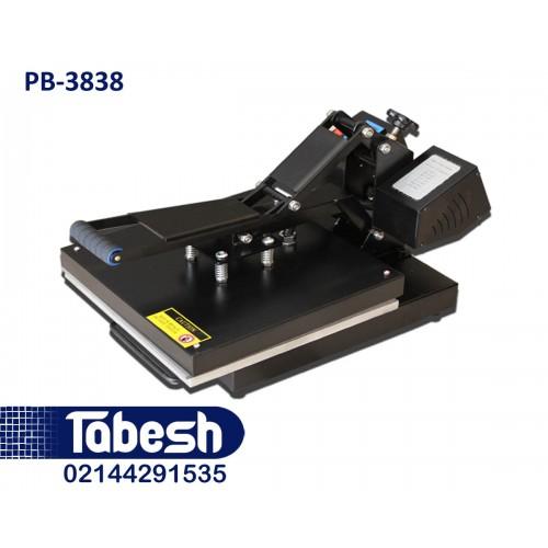 دستگاه پرس حرارتی-چاپ حرارتی PB-3838